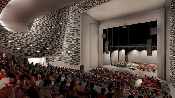 Segunda etapa de GAM. Image Cortesía de Consejo Nacional de la Cultura y las Arte