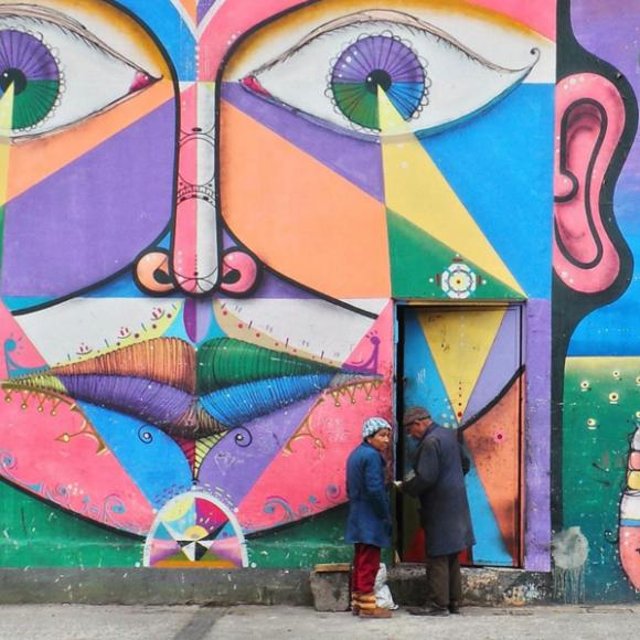 Barrio Franklin, Santiago. Cortesía de La Ciudad al Instante