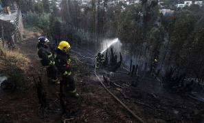 riesgo incendios valparaiso