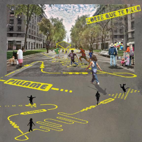 """""""Corre que te pillo"""", proyecto ganador del concurso """"Mi Plaza es Mi Jardín""""."""