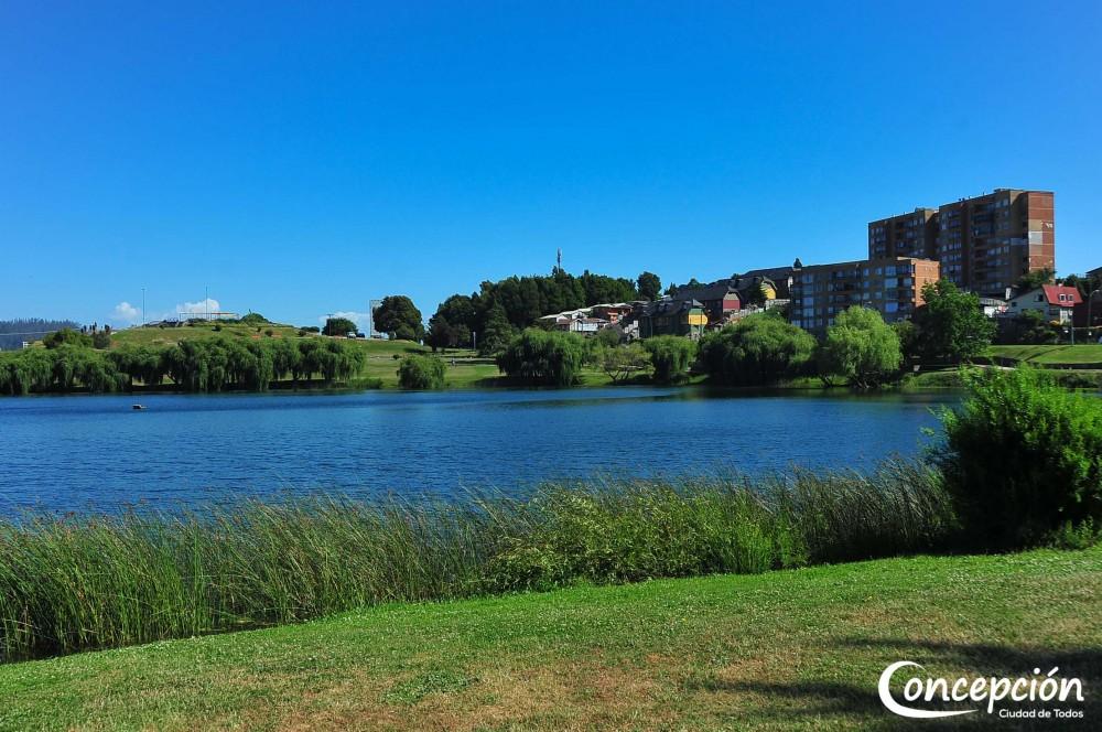 Parque Laguna Redonda. © Municipalidad de Concepción