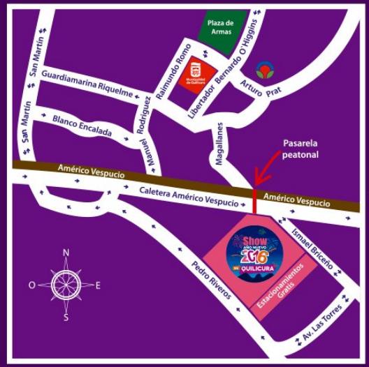 mapa fiesta quilicura 2