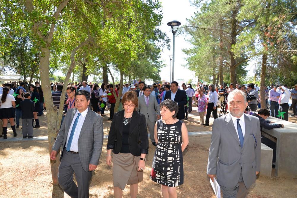 Inauguración Parque de Los Vientos de Marchigüe. © Minivsterio de Vivienda y Urbanismo, vía Flickr.
