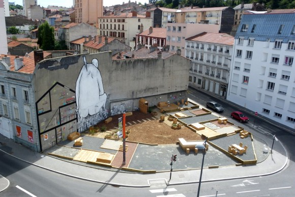 Place Au Changement en Saint-Étienne, Francia © Collectif ETC, vía Archdaily