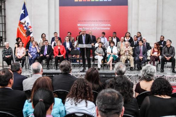 Proyecto Ministerio de las Culturas las Artes y el Patrimonio