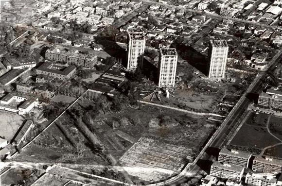 Remodelación Parque Inés de Suárez, Providencia. Fuente: Aniversario 50 años Minvu