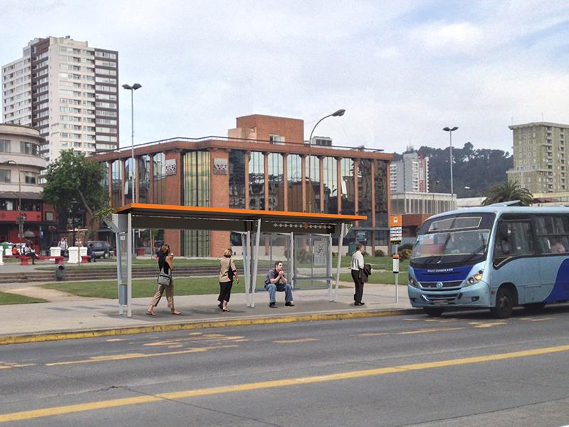 Propuesta Paradero Opción 2 de Alta Capacidad. Fuente imagen: Yo Elijo Mi Paradero.
