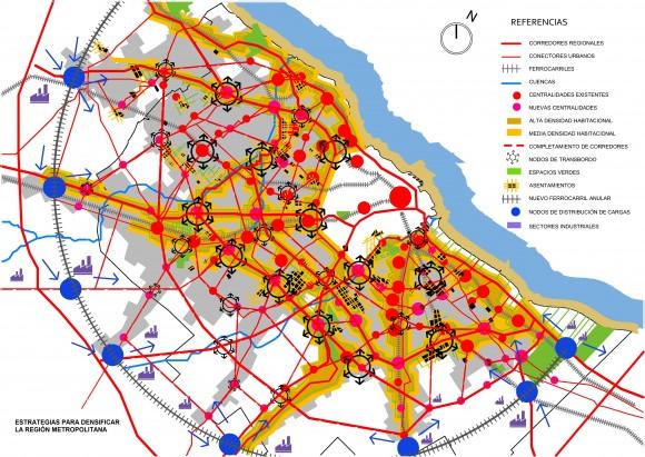 Estrategias para densificar la region metropolitana