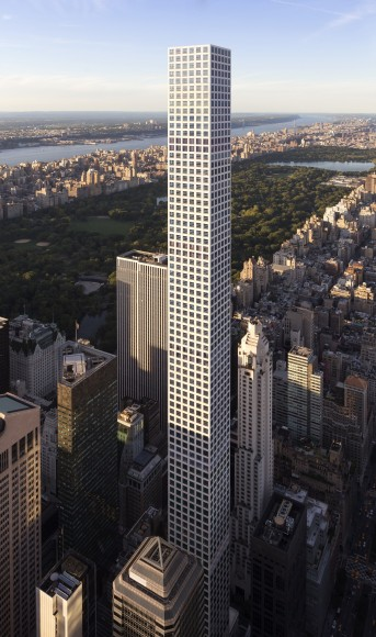 '432 Park Avenue' en New York. Imagen © DBOX para CIM Group & Macklowe Properties