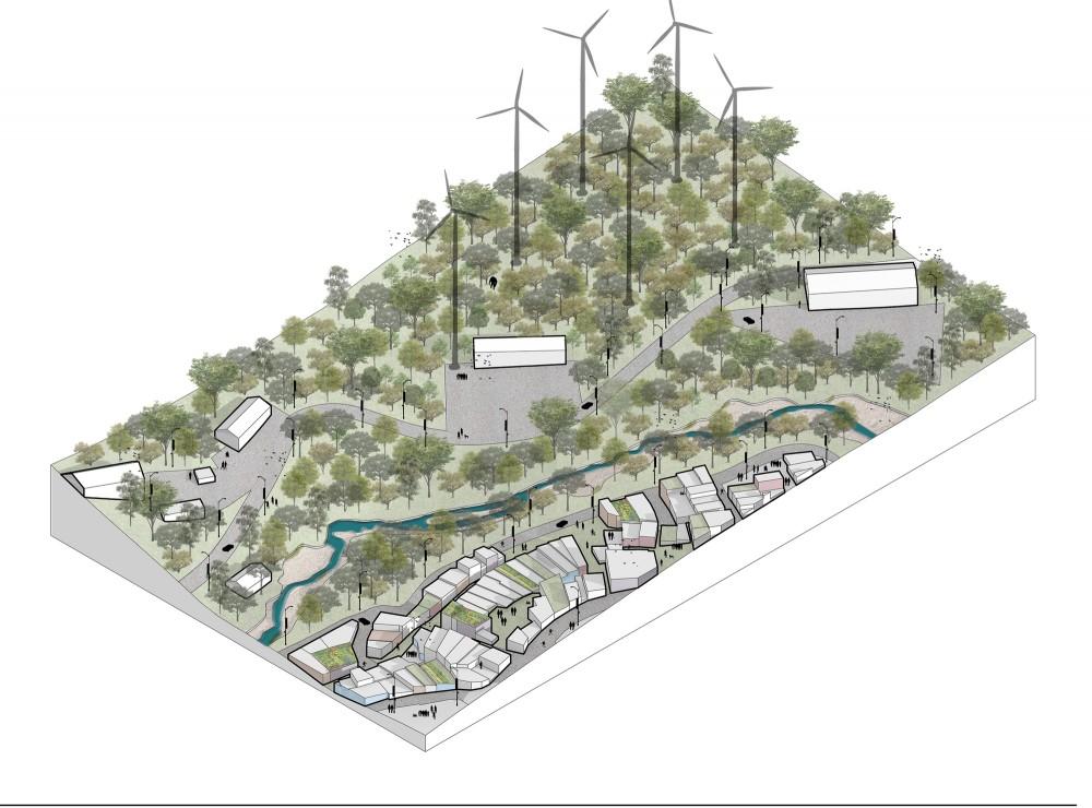 Futuro. Image Cortesía de MOBO Architects + Ecopolis + Concreta