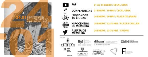 afiche conmemoracion terremoto chillan