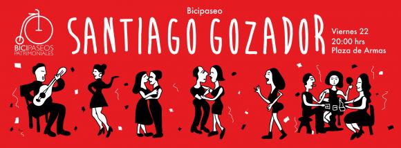 Afiche Santiago Gozador