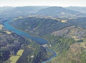 proyecto hidroelectrico San Pedro en Region de Los Rios