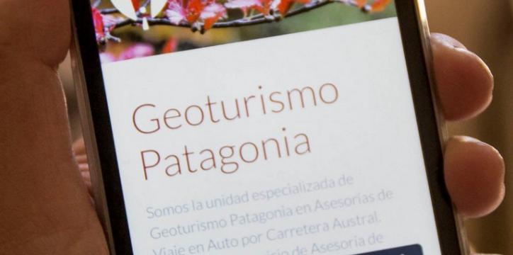 aplicacion geoturismo patagonia