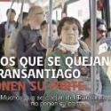 campaña contra la evasion transantiago