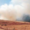 incendio en vertedero santa marta talagante