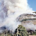 incendio en cerro el divisadero