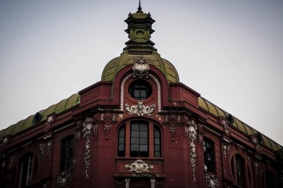 Edificio de Protección Mutua, centro de Santiago. ©Nico Le, vía Flickr