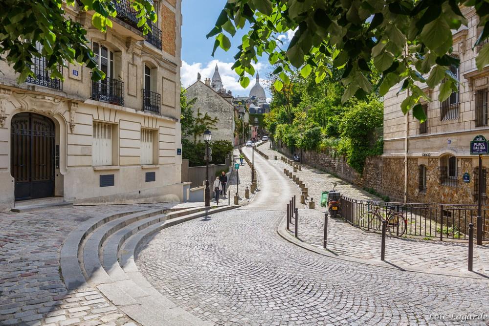 Plaza Dalida, París. ©Loïc Lagarde, vía Flickr.