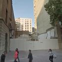 Plaza de Bolsillo en Morande 83. Foto tomada en abril de 2015, vía Google Street View.