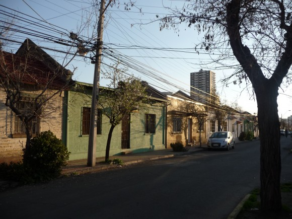 Población de Suboficiales de Caballería de Ñunoa. © BarrioKul