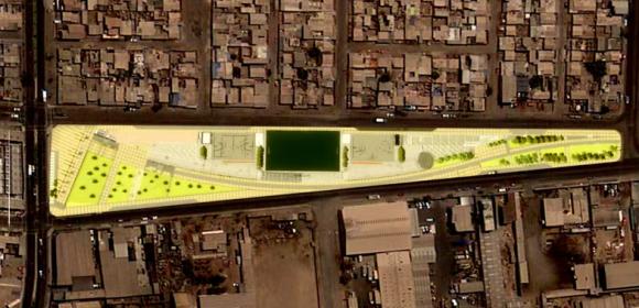 Segunda etapa del Parque Gran Avenida. ©Municipalidad de Antofagasta
