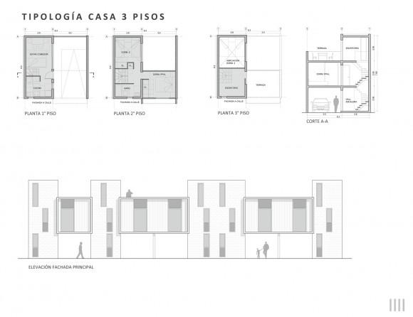 tipología_3_pisos