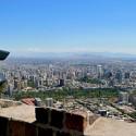 Vista desde el cerro San Cristóbal, Parque Metropolitano de Santiago. © SCFiasco, vía Flickr.
