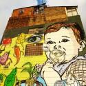 16.-Graffiti-de-Bebe-y-alimentos-con-el-texto-Siembra-Sano-hecho-en-el-muro-de-una-casa-de-3-pisos-en-la-Calle-26.
