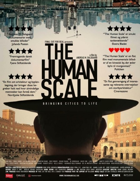 afiche documental the human scale