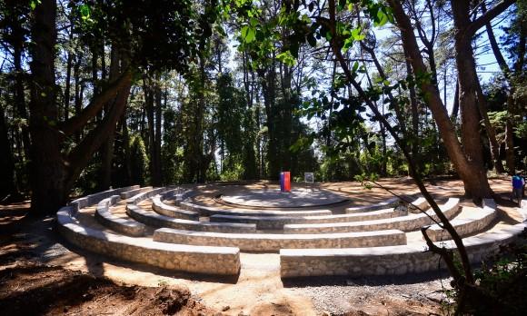 Anfiteatro del Cerro Caracol.