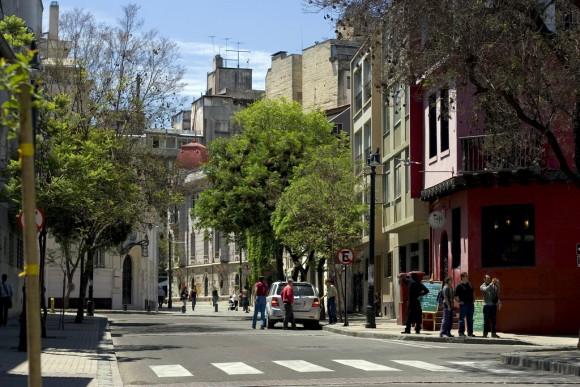 Barrio Lastarria, Santiago. © Joel Mann, vía Flickr.