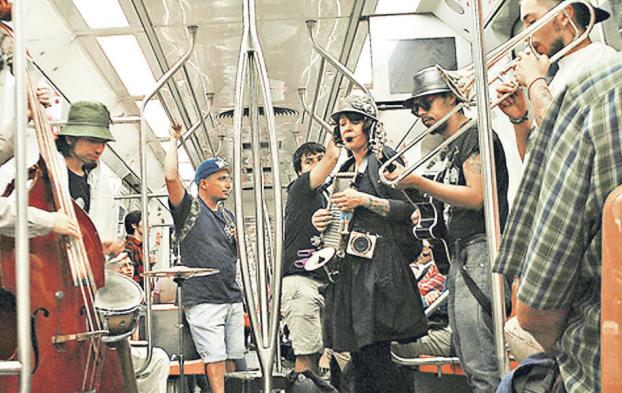 cantantes metro