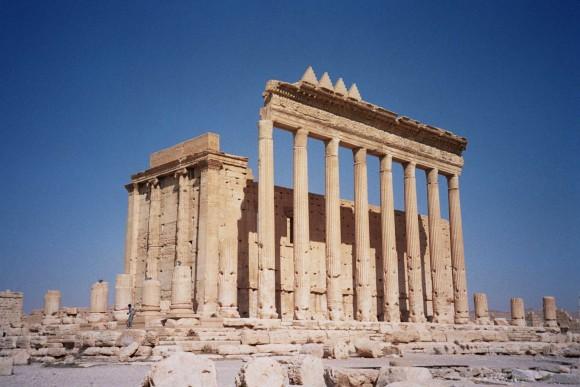 Templo de Bel en Palmira, antes de su destrucción en agosto de 2015. Image © upyernoz bajo licencia CC BY 2.0