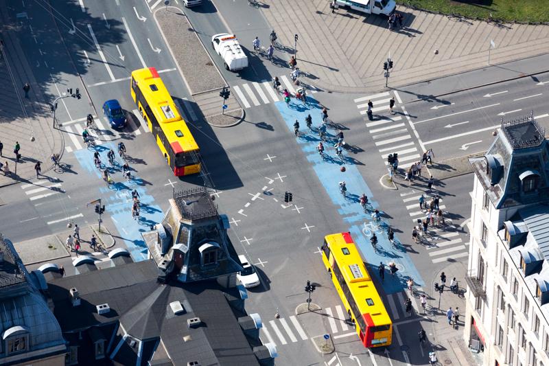 Copenhague, Dinamarca. Cortesía © Alex MacLean