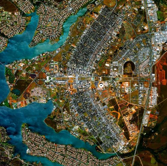 Brasilia, Brasil. © DailyOverView