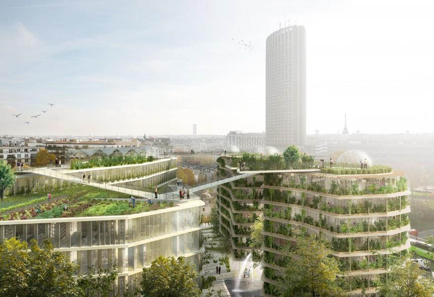 © Bnp Paribas Real Estate / Jacques Ferrier Architectures / Chartier Dalix Architectes / SLA Paysagistes / Splann