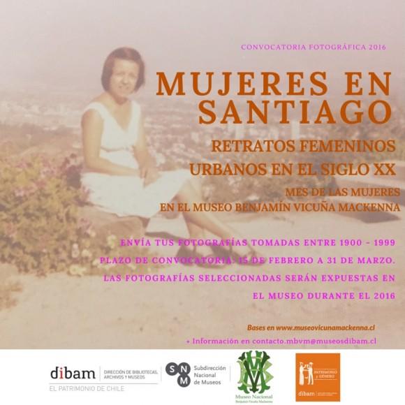 Flyer Mujeres en Santiago MBVM