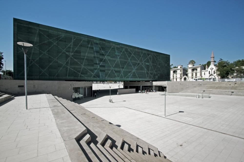 Museo de la Memoria y los Derechos Humanos. © Nico Saieh