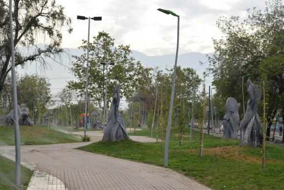 Parque Combarbalá, La Granja, Santiago. © Minvu