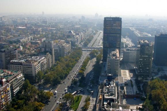 Paseo de la Castellana, Madrid. © miguelsaez7, vía Flickr.