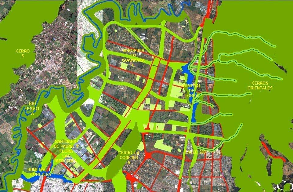El futuro de la reserva van der hammen y la expansi n for Arriendos en ciudad jardin sur bogota