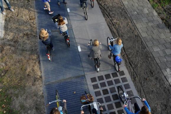 Ciclovía Solar, Ámsterdam, Holanda
