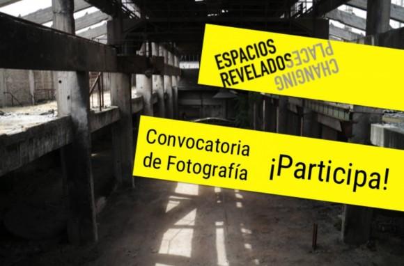 afiche convocatoria fotografica espacios revelaados