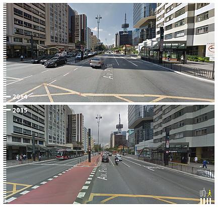 Avenida Paulista, Sao Paulo. © Urb-i