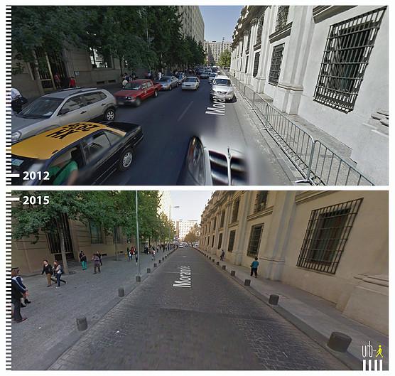 Calle Morandé, Santiago. © Urb-i