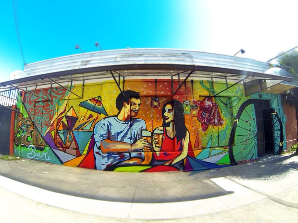 Mural de Antisa, en Concepción