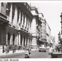 Calle Ahumada, 1958. Fuente: Santiago Nostálgico, vía Flickr.