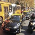 protesta taxis santiago