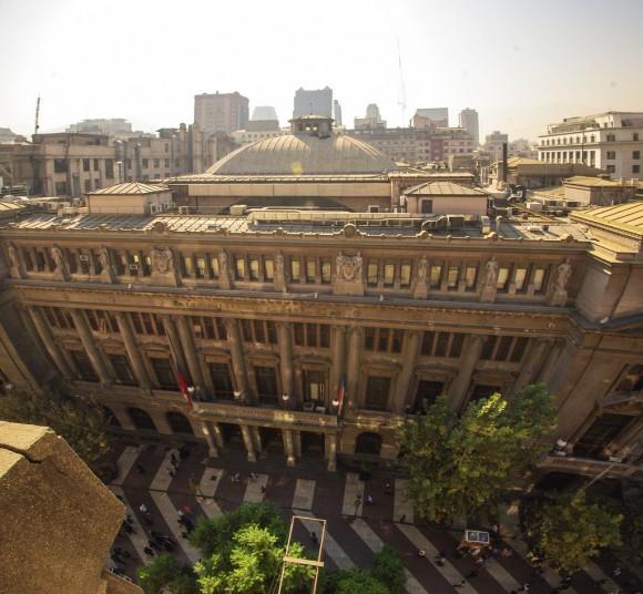 Casa Matriz del Banco de Chile en el Paseo Ahumada. © Martín Bonnefoy Valdés, vía Flickr.